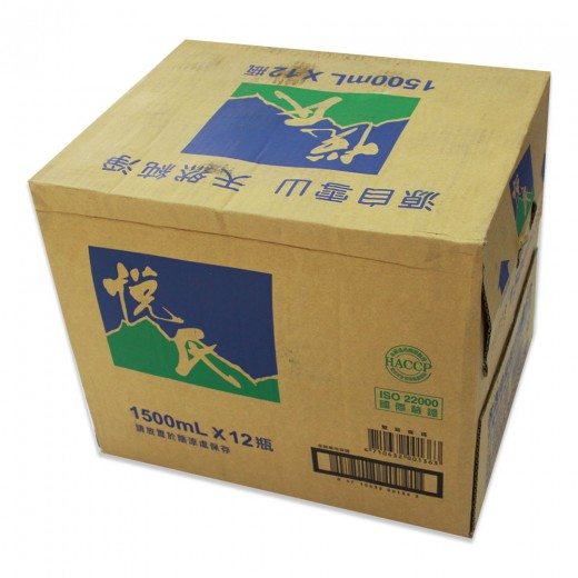 悅氏礦泉水1500ml*12瓶/箱