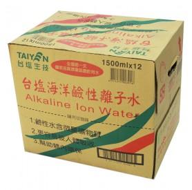 台鹽海洋鹼性離子水1500ml*12瓶/箱