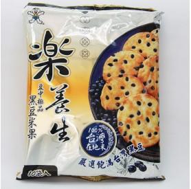 旺旺樂養生嚴選黑豆米果160g/包
