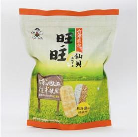 旺旺嚴選糙米仙貝-輕海鹽佐胡椒84g/包