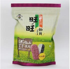 旺旺嚴選紫米仙貝-輕海鹽味78g/包