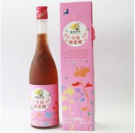 蜜蜂阿虎玫瑰蜂蜜醋600ml/瓶