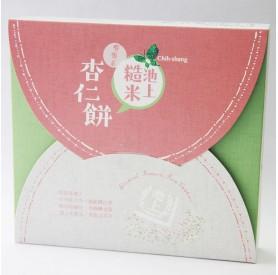 池上糙米杏仁餅220g/盒