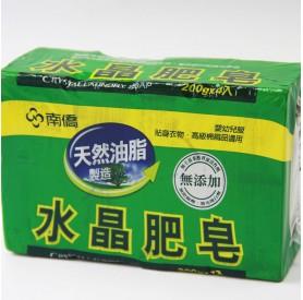 南僑水晶肥皂4入 200 公克 x4塊