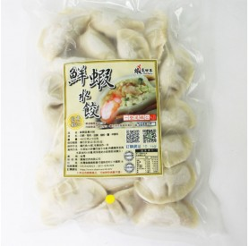 蝦覓世界韭黃蝦仁水餃480g/包