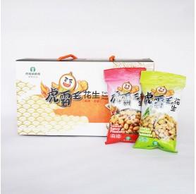 虎農虎霸王花生組麻辣70g3+香蔥70g*3/盒