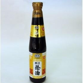 黑龍春蘭級黑豆蔭油清400ml/瓶