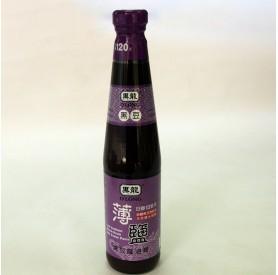 黑龍薄鹽黑豆蔭油膏400ml/瓶