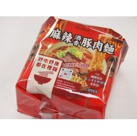 台酒麻辣酒香豚肉麵200g*3入/袋*4入/箱