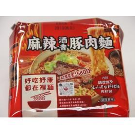 台酒麻辣酒香豚肉麵200g*3入/袋