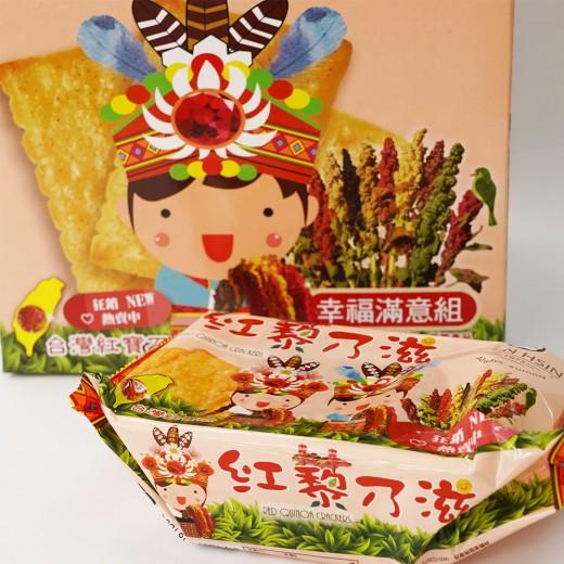 紅藜乃滋幸福滿意組禮盒62g*10入/盒
