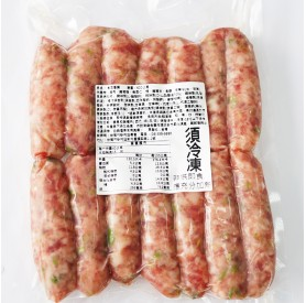 新市毛豆香腸600g/包
