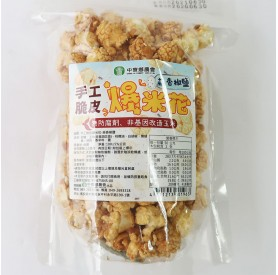 中寮農會手工脆皮蒜香爆米花100g/包