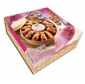 丞昀黃金脆皮雞腿排芋泥米糕禮盒 880g/盒