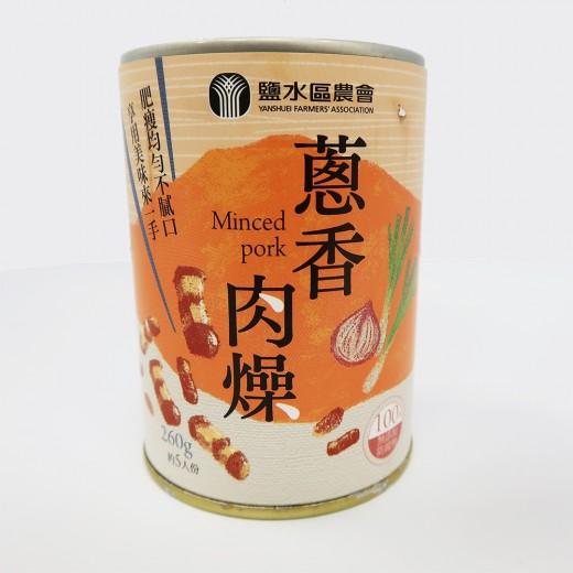 鹽水蔥香肉燥罐頭52g/罐
