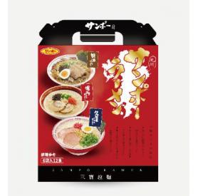 三寶拉麵六入禮盒組