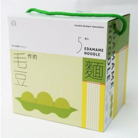 新市農毛豆拌麵137g*5入/盒