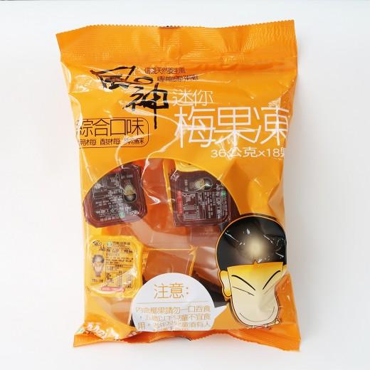 信義鄉農會風神迷你果凍36g*18入/袋
