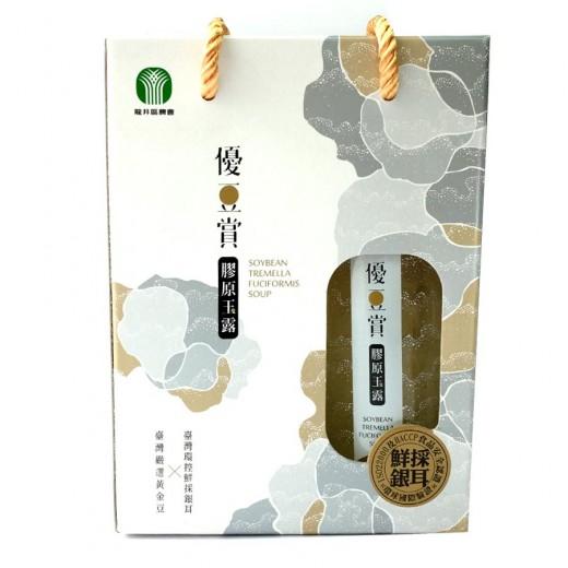龍井區農會優豆賞膠原玉露禮盒230g*2入/盒
