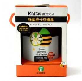 麻豆文旦蜂蜜柚子茶800g罐*10入