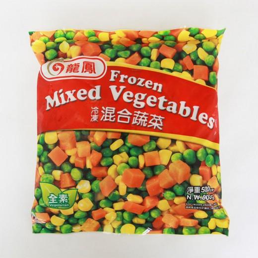 龍鳳三色混蔬500g/包