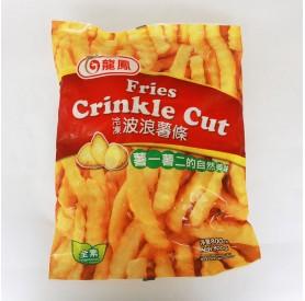龍鳳波浪薯條800g/包
