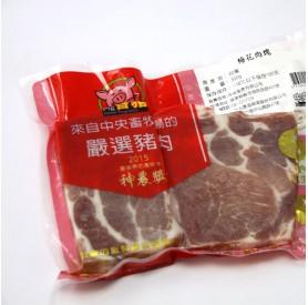 家香豬梅花肉塊300g/包