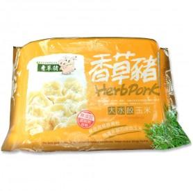 香草豬玉米大水餃 750g/盒