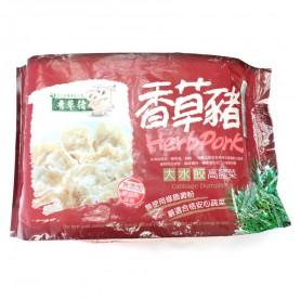 香草豬高麗菜大水餃 750g/盒