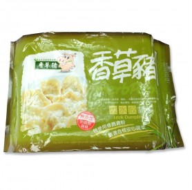 香草豬韭菜大水餃 750g/盒