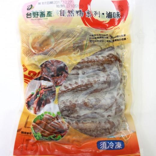 台野滷鴨翅(自然鴨)    300g/包(5支)