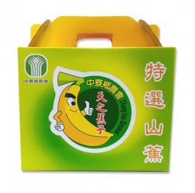 中寮鄉農會天之蕉子特選山蕉6kg/箱