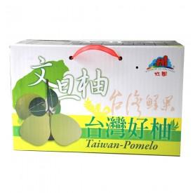 台灣鮮果瑞穗文旦6kg/箱(12顆↑)