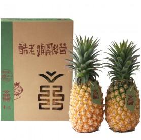 酷老頭鳳梨3kg(2顆)/盒