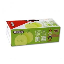 豐碩牛奶美濃香瓜(7-8粒)3公斤/盒