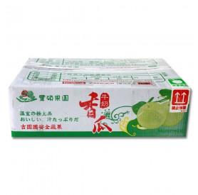 豐碩牛奶美濃香瓜(13-15粒)6公斤/箱