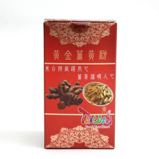 東台灣黃金薑黃粉膠囊 150粒/瓶