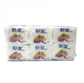 舒潔紙餐巾 (75張 x6包/串)