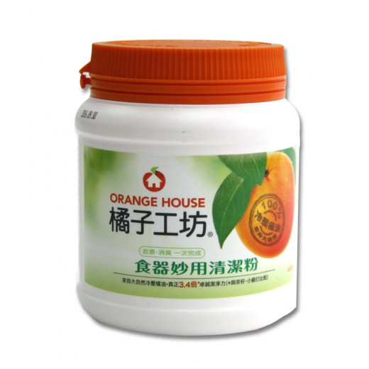 橘子工坊食器清潔粉450g/瓶