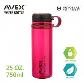 Avex運動隨手瓶750ml(桃紅色)
