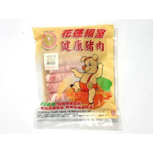 花蓮網室梅花火鍋肉片 300g/盒