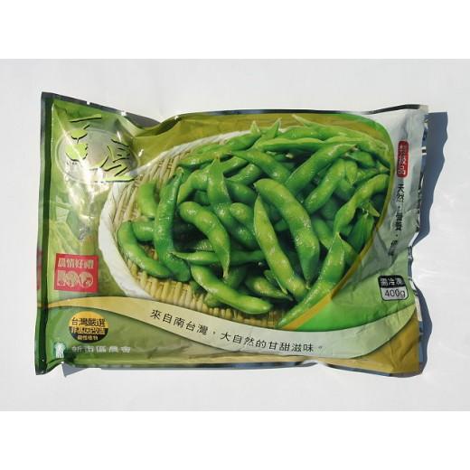 新市區農會原味毛豆(400g/包)
