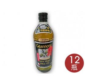 千磊原味甘醇特級橄欖油(1L*12瓶/箱)