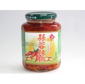 阿煥伯蒜蓉辣椒(350g/罐)