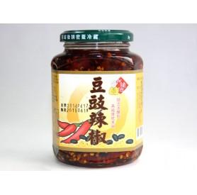 阿煥伯豆豉辣椒(350g/罐)