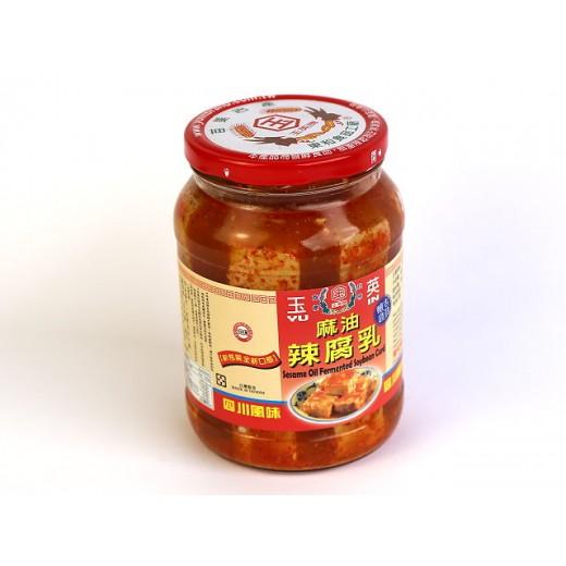 玉英麻油辣豆腐乳 (800g/罐)