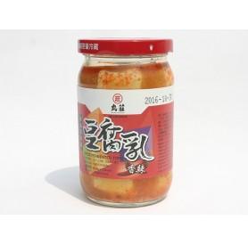 丸莊香辣豆腐乳(非基改) (350g/罐)