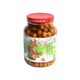左鎮區農會破布子漬 (650g/罐)