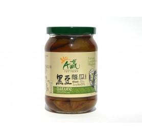 下營區農會黑豆蔭瓜 (380g/罐)
