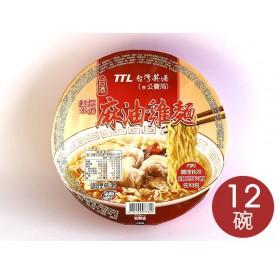 台酒麻油雞麵 (200g*12碗/箱)
